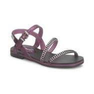 Sorte Plateau sandaler