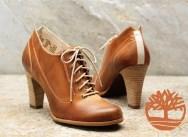 Sorte ankelstøvler med hæl